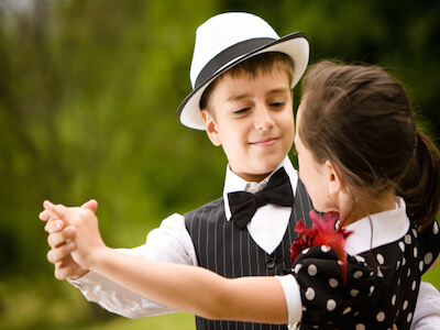 niños baile